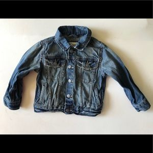 Children's Place Denim Jacket Snap *MINT* 2T